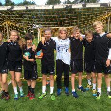 Erfolgreich beim Sommerturnier Handball 2017