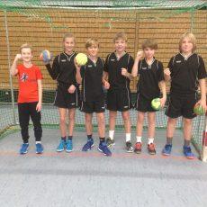 Erfolgreich beim Handball-Nikolausturnier