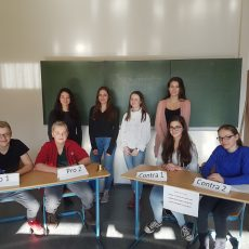 Jugend debattiert – Schul- und Regionalwettbewerb