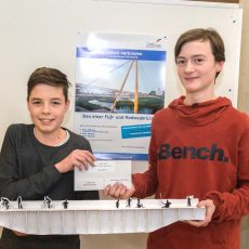 """Wettbewerb JUNIOR.ING """"Brücken verbinden"""" – Nachwuchsingenieure ausgezeichnet"""