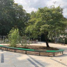 Eröffnung des neuen Schulhofs und der Grünen Mitte