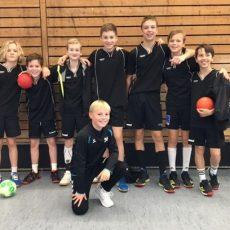 Landes-Finale im Handball Jugend trainiert für Olympia