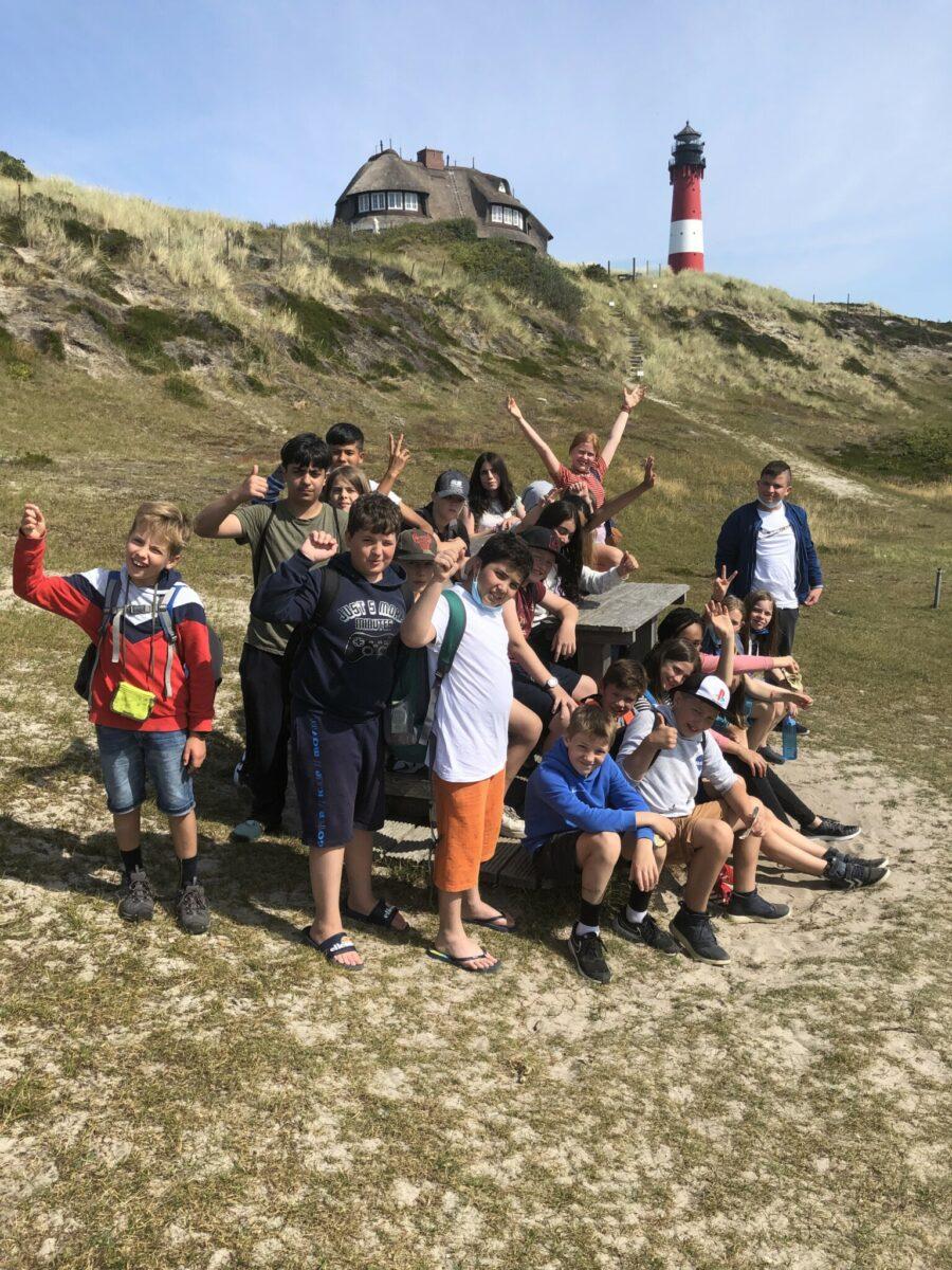 Klassenreise der 6d nach Sylt