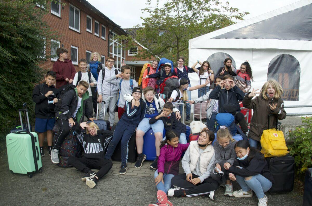 Reise-Klasse 6c- Jugendherberge Plön