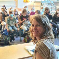Die Autorin Kristina Kreuzer zu Gast in Klasse 5